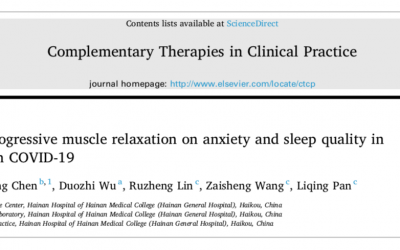 A yogic technique for anxiety and sleep in COVID-19 patients
