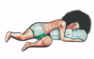 Restorative yoga to support healing from race-based stress
