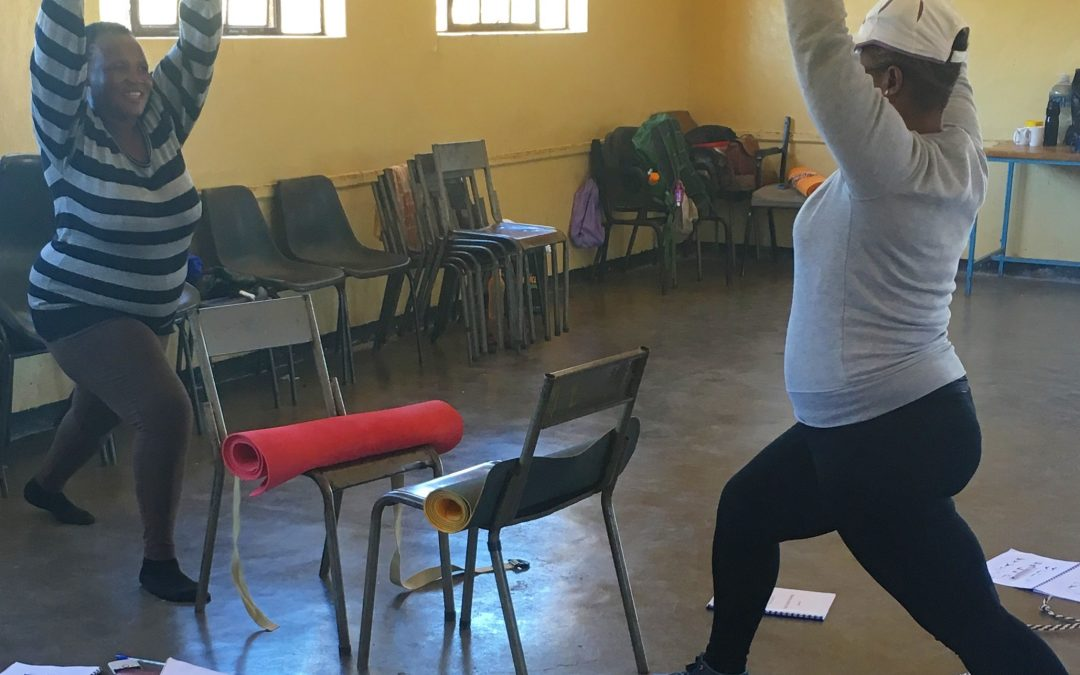 International nonprofit uses yoga to help communities practice sustainable self-care